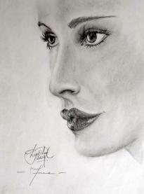 Face - Graphite Pencil on Paper