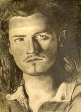 Will Turner - Graphite Pencil on Paper