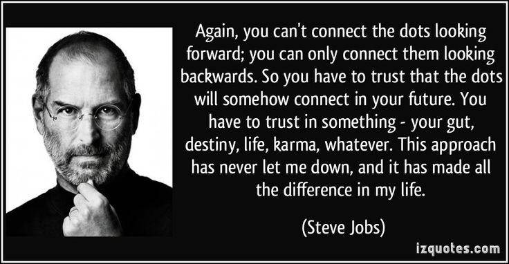 steve Jobs dots