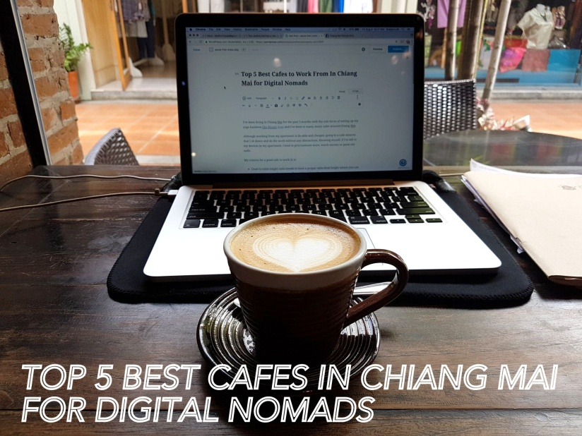Best cafe chiang mai work